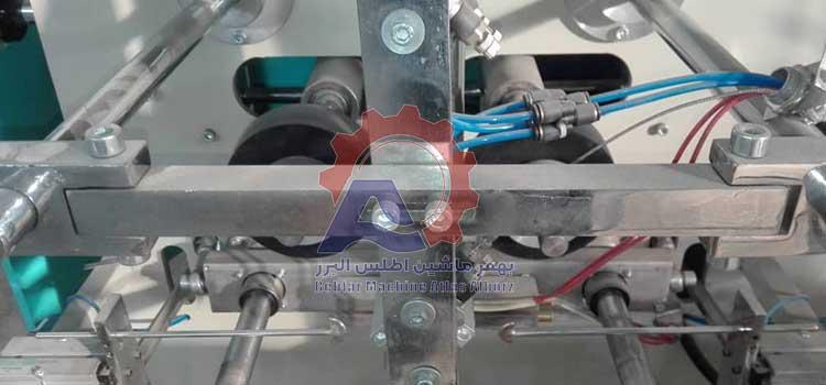 دوخت حرارتی دستگاه بسته بندی 4 توزین-عکس محصول 8