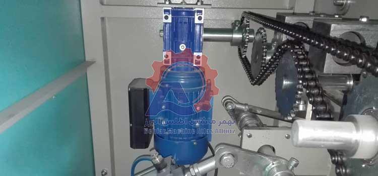 الکترو موتور دستگاه بسته بندی چهار توزین-عکس محصول 4