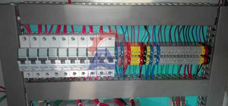 تابلو برق دستگاه بسته بندی 4 توزین-عکس محصول3