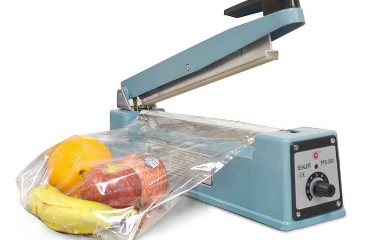 دستگاه بسته بندی سبزیجات دستی