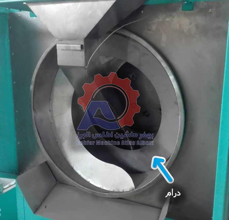 درام دستگاه تفت آجیل و خشکبار-عکس محصول