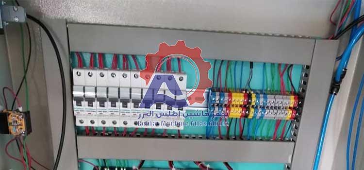 تابلو برق دستگاه بسته بندی دو توزین-عکس محصول