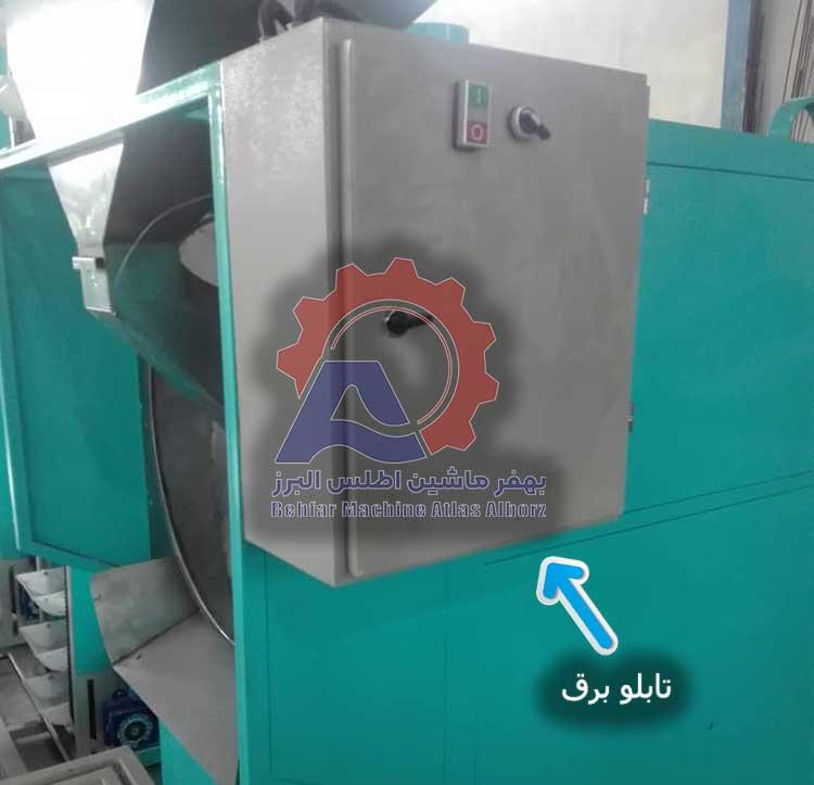 تابلو برق دستگاه تفت آجیل و خشکبار-عکس محصول