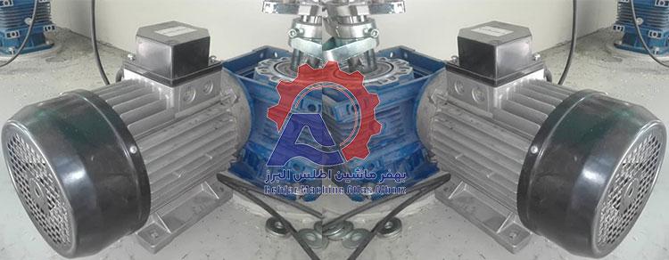 دو موتور در دستگاه بستهبندی 12 توزین