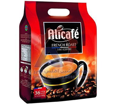 بسته بندی دستگاه بسته بندی قهوه فوری توزین دار