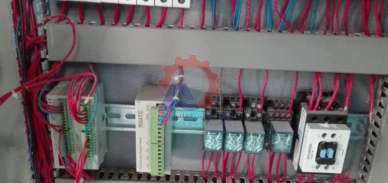 تابلو برق دستگاه ساشه مایع-مقاله خط تولید سس تک نفره