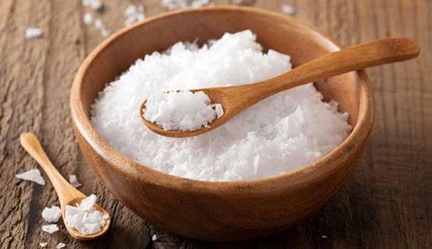 نمک خشک شده در مقاله دستگاه خشک کن نمک