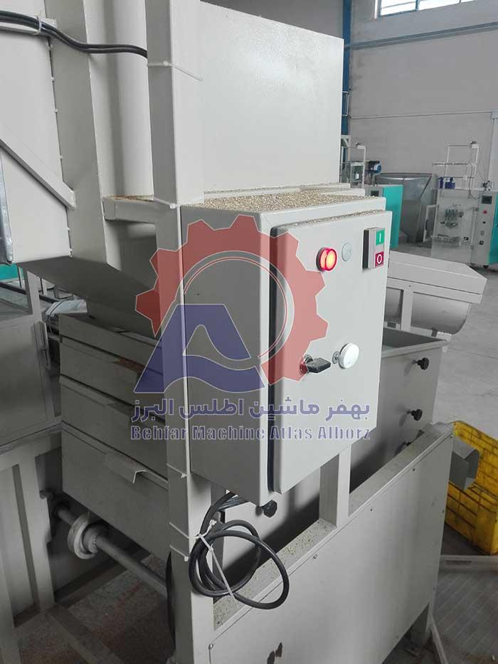 تابلو برق دستگاه بوجاری کلزا